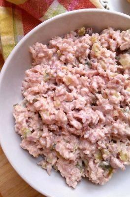 BOLOGNA SALAD - Grandma's Simple Recipes