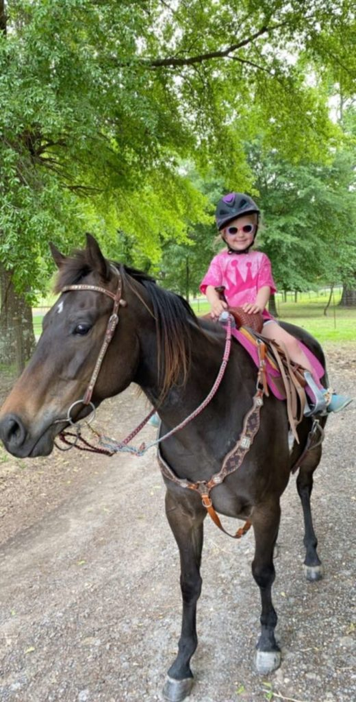 Little Girl Loves Horse So Much She Sneaks Her Into Her Room - Grandma's  Simple Recipes